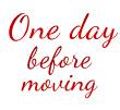 Moving Advice 4